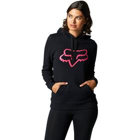 Fox Boundary Fleece Pullover Women, black/pink